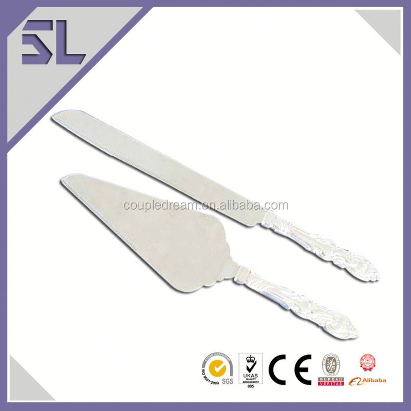 Hot Selling Easy Clean promotional cake knife International Silver Item Company