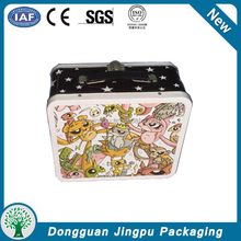 Decorative lunch storage tin boxes