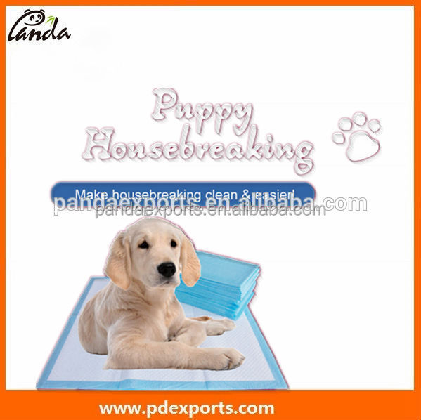 Disposable Absorbent Indoor And Outdoor Housebreaking pet puppy dog training pad