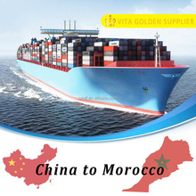 Sea freight shipping from Guangzhou to Morocco ocean transport services to Casablanca Europe
