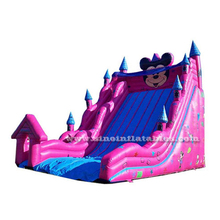 9 meters high commercial quality giant mickey mouse inflatable slide for kids outdoor fun activities