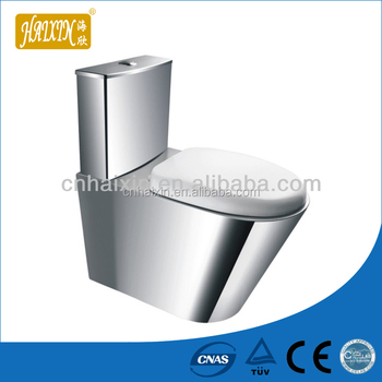 Wc Toilet Stainless Steel Toilet High Quality