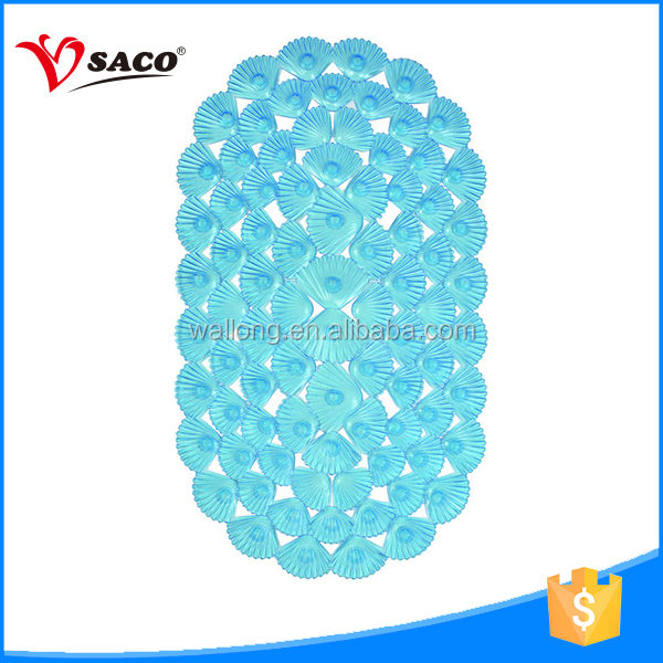 New design semi-circle bath mat with high quality