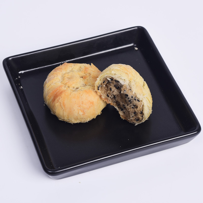 HALAL vegetarian cookies black sesame filled sweet biscuits Redstar famous brand