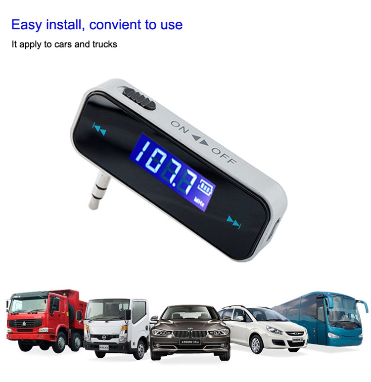 GXYKIT 2018 Hot selling promotion car BT fm transmitter for radio station