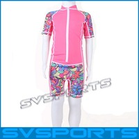 Custom Printed Kids rash guard for svsports