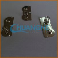 Factory supply wenzhou compression spring clip button