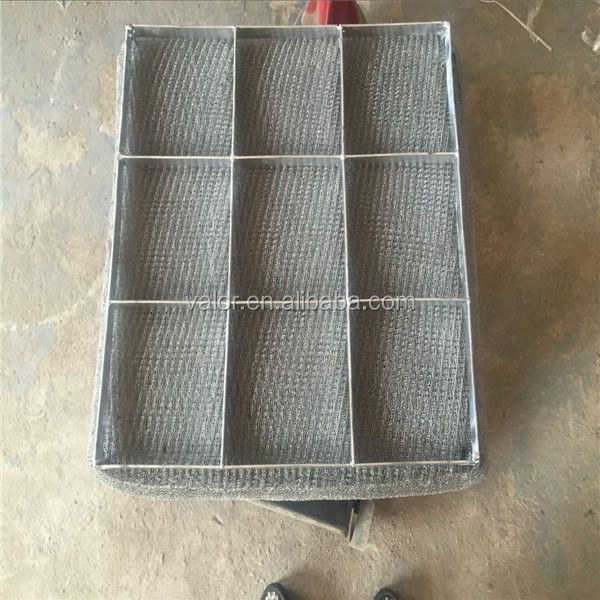 304 wire knitted mesh Mist Eliminator,Demister Pads with SS Frame