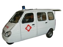 china handicaped tricycle for ambulance use