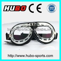 2014 best selling anti scratch PC lens motorcycle racing glasses