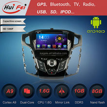 HuiFei RK3066 A9 Dual Core Mirror Link Capacitive Touch Screen OBD2 Android 4.2.2 for Ford Focus 2012 Car DVD Player