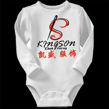 Long Sleeves Baby T-Shirt in Soft Interlock Fabric With Logo