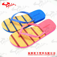 Woman fancy slipper flat outdoor flip flop
