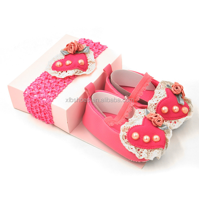 factory directly sell wholesale shabby chic decor/girls shoes accessories/baby headband