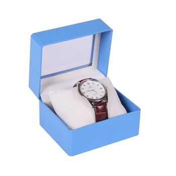 OEM Paper Watch Box Private Label Slogan Box Gift Rectangle Custom Box Packing