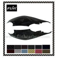 Black Carbon fiber Motorcycle Side Tail cover for Suzuki