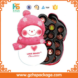 custom full color plastic trays for chocolate boxes wholesale