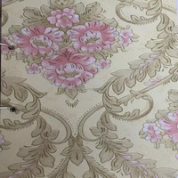 Hongxin pvc hotel interior wallpaper self adhesive vinyl wall covering