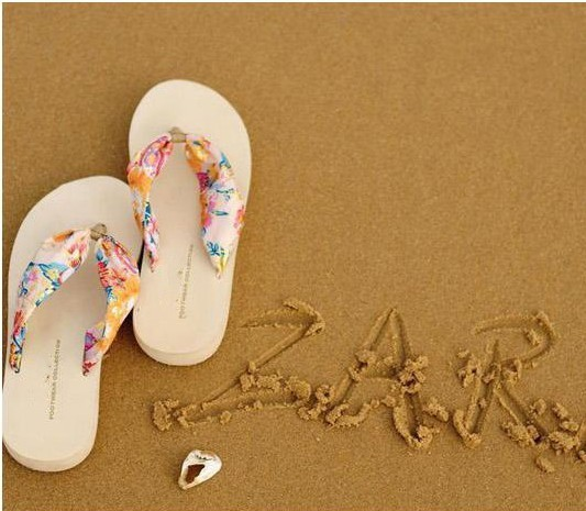 hotsales women shoes 2014 flower wedges sandals for women platform beach flip flops platform sandals women shoes 2014 fast ship