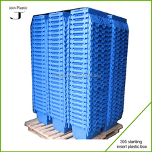 high quality plastic cake crate attached-lid storage container