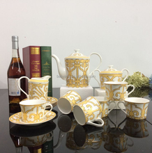 European Style Ceramic Coffee Set With Cup And Saucer,Tea Set