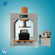 Forklift solid removal changer hydraulic press repairing tyre machine