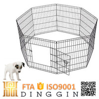 Wrought iron dog enclosures for pet