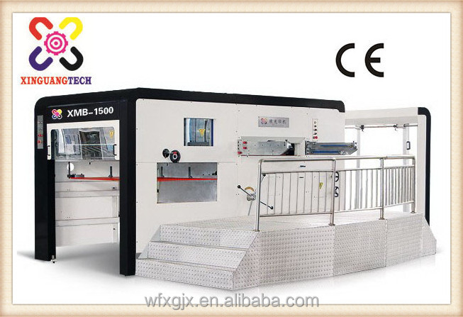 xmb-1500mm Flatbed cutter plotter flatbed die cutting machine for paper carton sample cutter