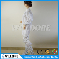 antistatic esd cheap coveralls