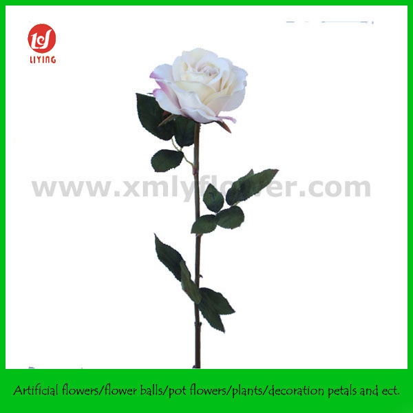 Artificial White Rose Flowers