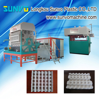 Cheap price egg tray manufacturing machine / egg salver machine / egg box forming machine