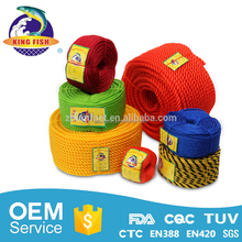 China customized poly fiber clothes rope