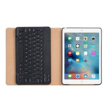 Classic Design For iPad pro 9.7 Folio Leather Case Bluetooth Keyboard Flip Leather Case