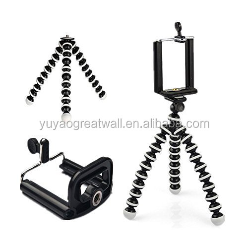 Smartphone Tripod Mount Gorillapod SLR-Zoom Tripod for Phone Adjustable Leg Mobile Phone Stand