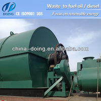 diesel pyrolysis plant convert fuel oil to clean diesel oil