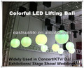 With CE Certificate, New Design Stage Decrative, Colorful LED Lifting Ball for Stage Show/ DISCO /Theater/ Concert, DMX 10CHS