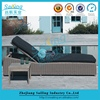 High End Furniture Durable Rattan Garden Furniture Outdoor Bed Sale