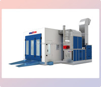 Automobile downdraft paint booth small spray booth painting room for sale