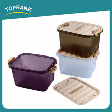 Toprank Multi Purpose Factory Direct Sale Various Color Plastic Sundry Storage Box For Protect Bra Underwear Storage Box
