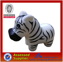 Best Quality Promotional Cute Top Quality PU Stress Zebra