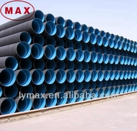 corrugated plastic pipe price/hdpe drainage pipe hdpe drain water pipe