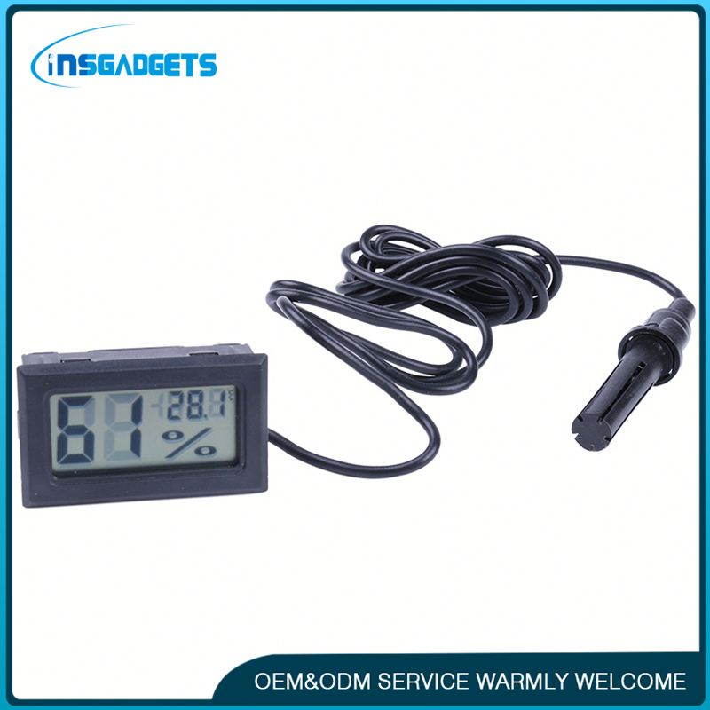 Instant read indoor thermometer h0t4B thermometer hygrometer digital probe for sale