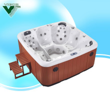 Factory Hot new arrival 2014 swimming pool spa for 6 persons cold spa hot tub