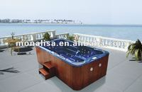 New (Installed Balboa control system)Spa swimming pool luxury big training pool with jets M-3337