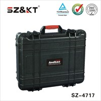 hard plastic waterproof tool case for equipment