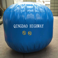 3m3-500m3 PVC membrane gas storage bag/tanks for biogas