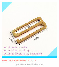 china supply 9 shape new fashion square adjustable metal belt buckle