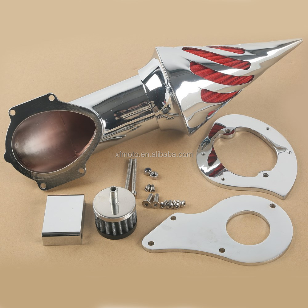 Chrome Air Cleaner Intake Filter For Honda Shadow VT600C VLX600 VLX Deluxe New