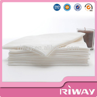 Professional made best price 100% viscose plain white salon and spa towels