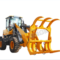 agricultural machinery sugarcane machine wood grasping loader price